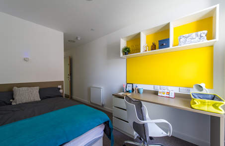 5 Bed Ensuite Silver in Student Residence