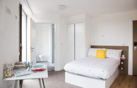 Silver Ensuite in a Student Residence