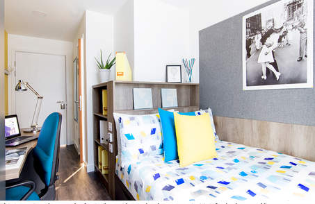 Deluxe Room in 2BR flatin Student Residence