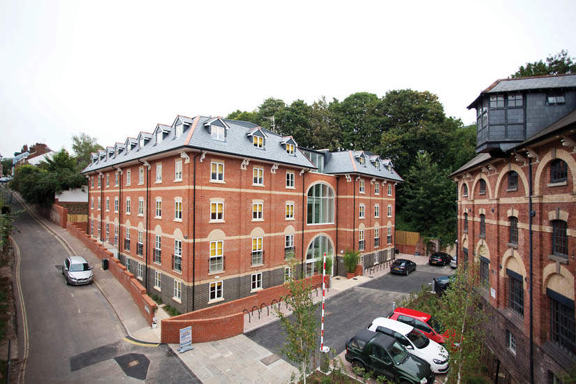 Exeter_student_accommodation_iron_bridge_studios_day_view