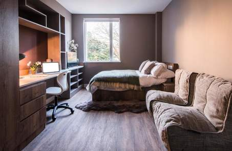Premier Studio in Student Residence Double Occupancy