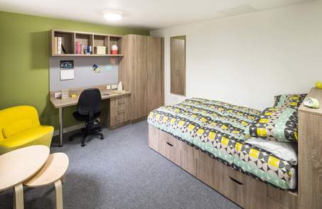 Deluxe Studio Dual Occupancy in Student Residence