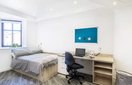 Standard Silver Studio in Student Residence