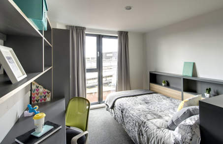 Deluxe Silver Studio in Student Residence