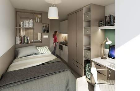Gold Ensuite in Student Residence